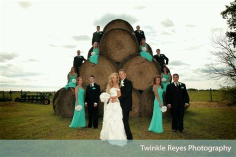 turquoise country wedding very cute my dream wedding