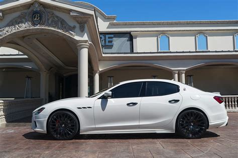 maserati ghibli blacked out maserati ghibli white black rims www pixshark com