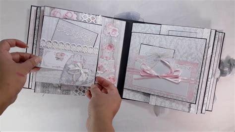 Handmade Wedding Album - dannycraftshop scrapbook handmade wedding mini album 16