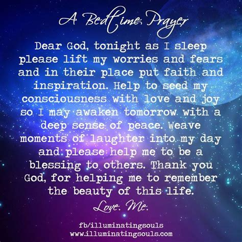 Prayers Before Bed by Bedtime Prayer Words To Live By