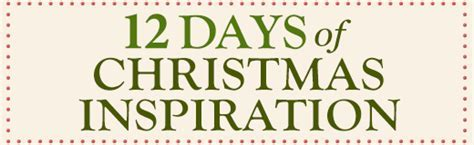 12 Days of Christmas Inspiration   Blue Mountain