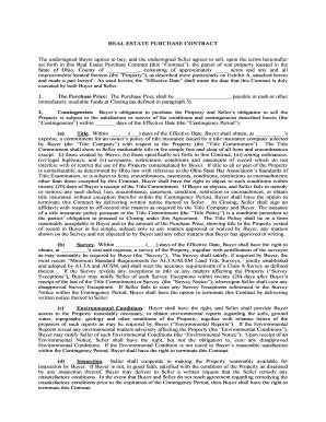Ohio Estate Contract Fill Online Printable Fillable Blank Pdffiller Land Contract Template Ohio