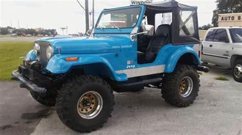 jeep wrangler turquoise for sale jeep cj 5 for sale carsforsale com 174