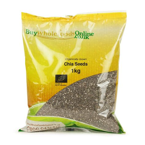 Chia Seed 1 Kg by Organic Chia Seeds 1kg Buy Whole Foods