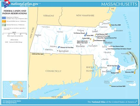 indian reservations usa map map of massachusetts map federal lands and indian