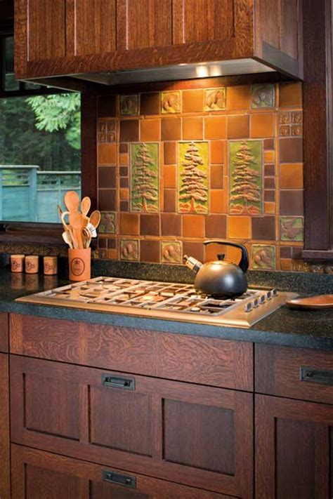 Handcraft Kitchen - today s use of tile in classic kitchens house