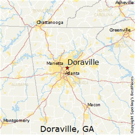 doraville map best places to live in doraville