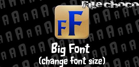 font changer apk big font change font size pro apk 187 filechoco