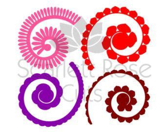 rolled paper roses template 17 best ideas about rolled paper flowers on