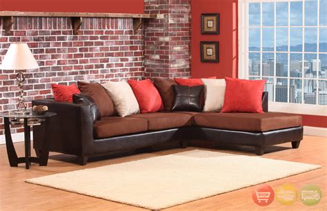 colored sectional sofas multi colored sectional sofa loose pillow back 4185
