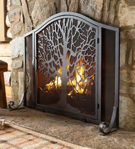 where to buy fireplace doors metal firescreen screen tree of the burning bush