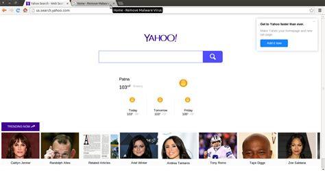 Yahoo Search Usa Meilleur Moyen De Se D 233 Barrasser De Us Search Yahoo Hijacker From Web Browser