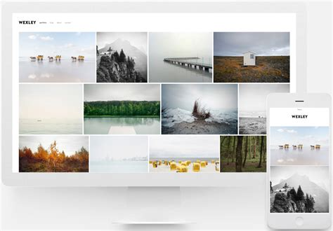 best squarespace template for photographers images