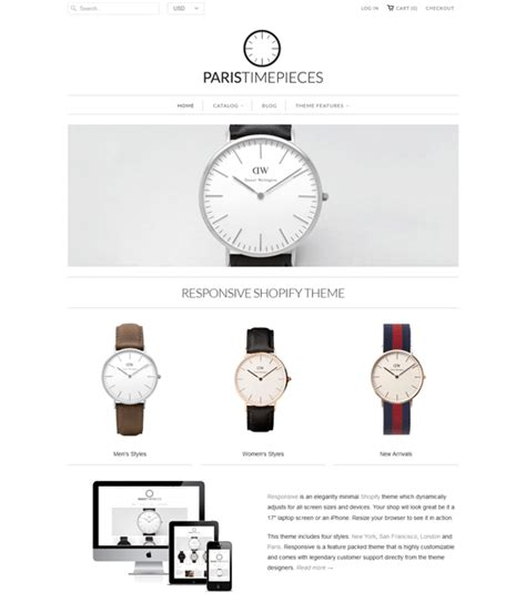 shopify themes for jewelry 10 of the best shopify themes for watch jewelry stores