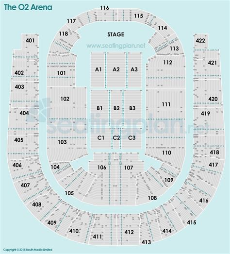 o2 floor seating plan o2 arena london seating plan