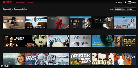 how to see the secret sections of netflix without typing