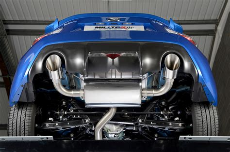 subaru brz exhaust subaru brz 2 0 litre 2012 and later performance exhaust