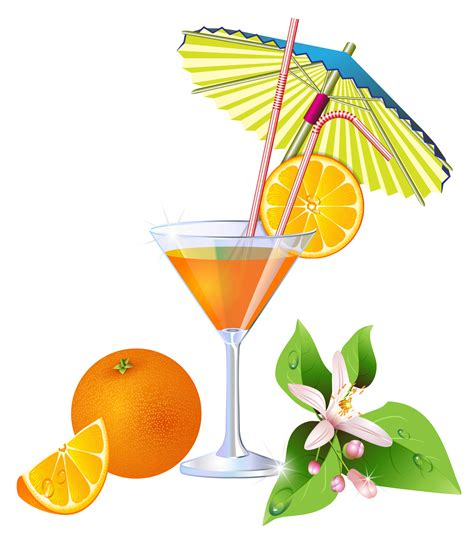 holiday cocktails png summer orange cocktail png clipart gallery yopriceville