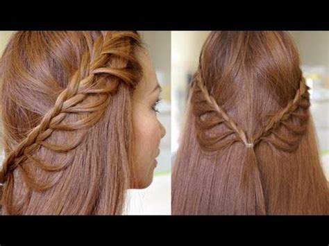 braided hairstyles tutorials youtube summer cascading braids hair tutorial youtube