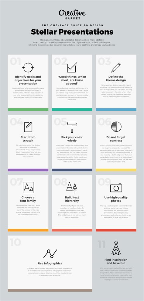 presentation layout guide the one page guide to design stellar presentations