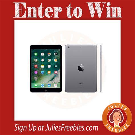Ipad Mini Gift Card - win an ipad mini 2 or amazon gift card julie s freebies