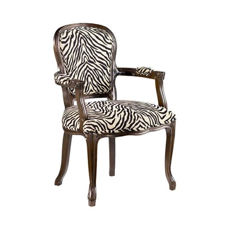 Animal Print Armchair by Hammary 090 436 Treasures Animal Print Accent Chair