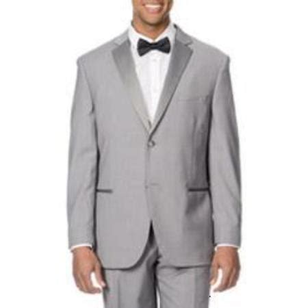 product qy87l light grey gray silver satin detailed tuxedo