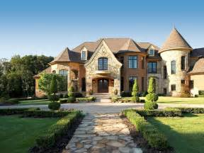 French Country Style Homes by French Country Estate Traditional Exterior Detroit