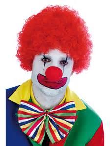Red clown wig fs2738 fancy dress ball