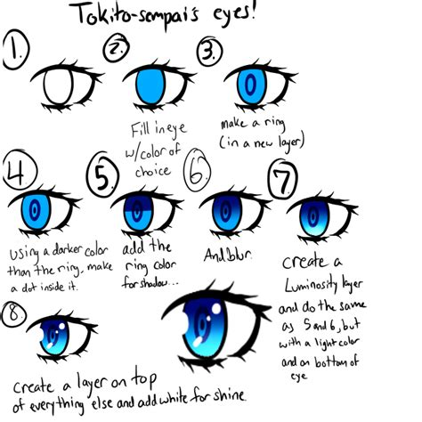 draw anime paint tool sai tutorial paint tool sai anime eye tutorial by tokito sempai on