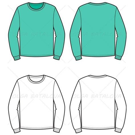 illustrator jersey tutorial men s sweater fashion flat template illustrator stuff