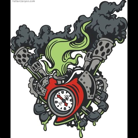 motor tattoos 25 best ideas about engine on mechanic