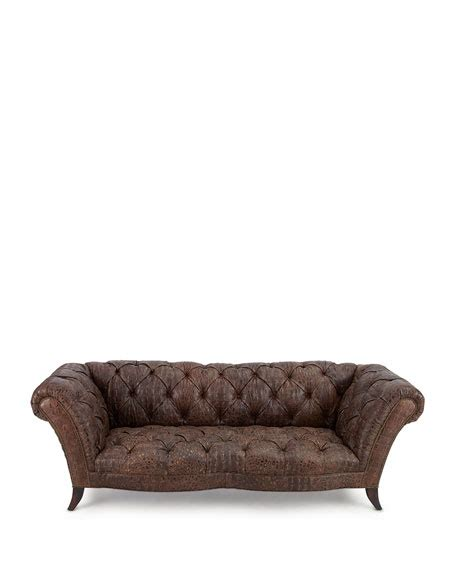 old hickory tannery tufted leather chair ottoman old hickory tannery fritz tufted leather sofa