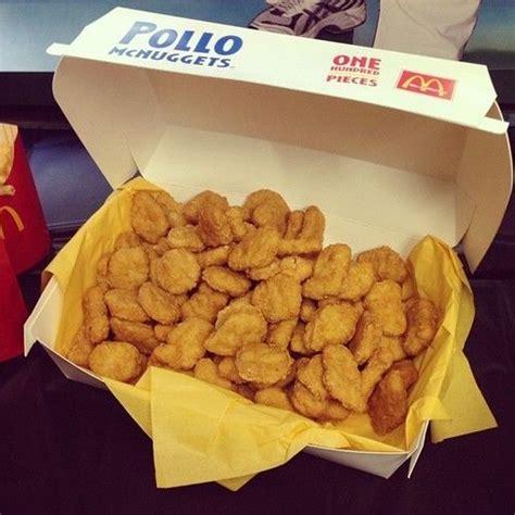 100 chicken nugget challenge 100 pollo mcnuggets haha