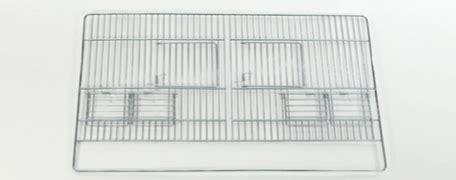 frontali gabbie gabbia frontale per voliera gabbie uccelli zincato