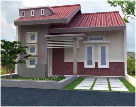 desain dinding depan rumah minimalis 65 model desain rumah minimalis 1 lantai idaman dekor rumah