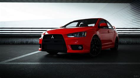 mitsubishi evo red mitsubishi lancer evolution x wallpapers wallpaper cave