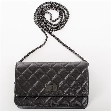 Misha Bartons Gorgeous Chanel Classic Charms 255 Quilted Bag At The 60th International Cannes Festival by Chanel Quot So Black Quot 2 55 Reissue Quilted Calfskin Wallet On
