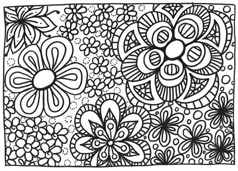 Coloriage Fleurs Crapouilleries
