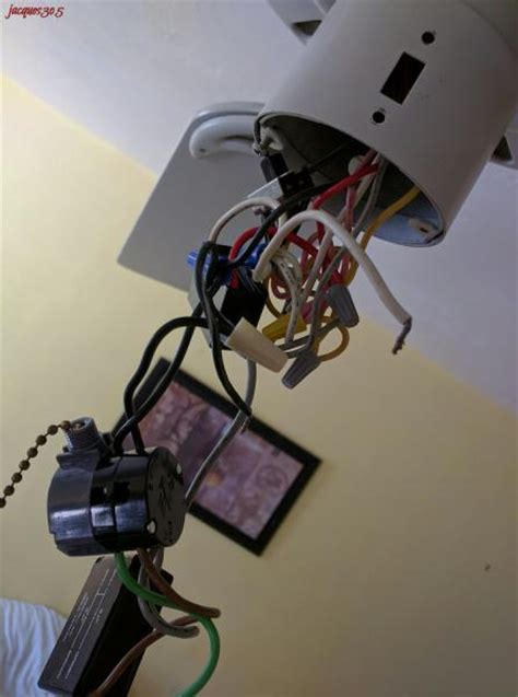 how to fix my ceiling fan how can i fix my mistake with the ceiling fan