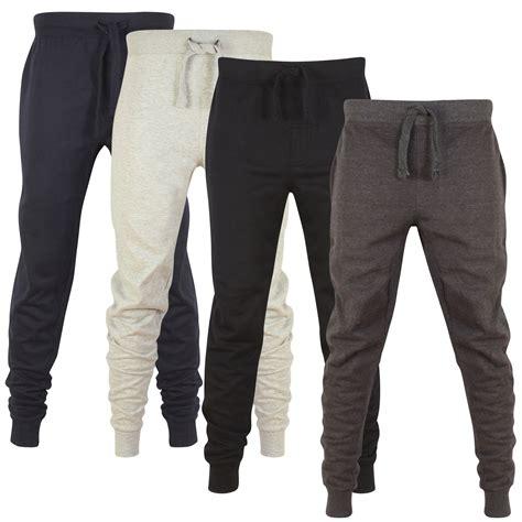pattern fleece joggers mens skinny jogging bottoms slim fit joggers tracksuit