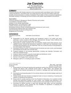 Remote Recruiter Sle Resume by Confidential Controller Resume