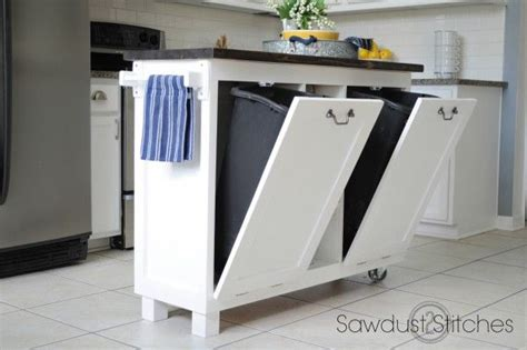 recycle old kitchen cabinets 17 best ideas about trash can cabinet on pinterest