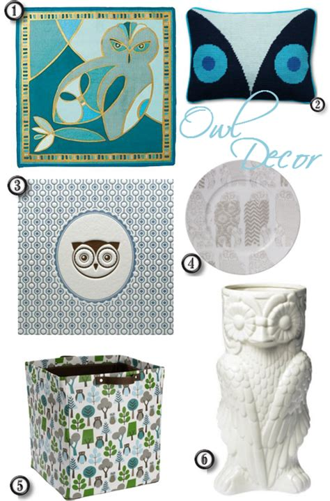 Owl Home Decor Accessories Chic Owl D 233 Cor Hoot Hoot Simplified Bee