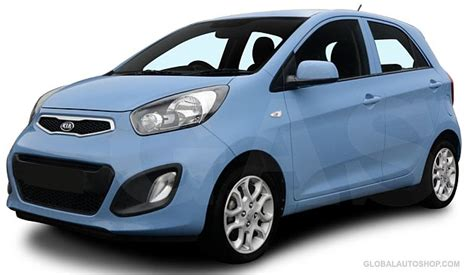 Kia Picanto Accessories Kia Picanto Morning Chrome Window Sill Molding Trim