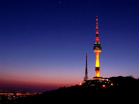 tower address n seoul tower location map
