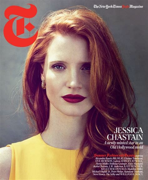 chastain hair color chastain make me look like this
