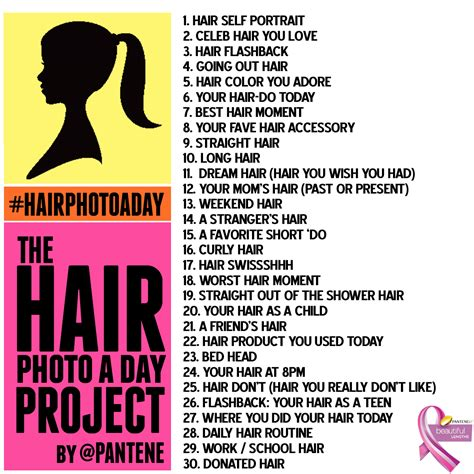 hair challenge pantene beautiful lengths hair photo a day project hair