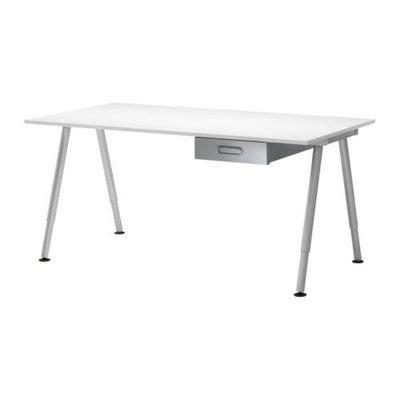 scrivania galant scrivania galant con cassetti bianco argento s69861167