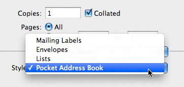 print envelopes from address book mac tricks and tips 5 handy address book tips reality distortion macs mac